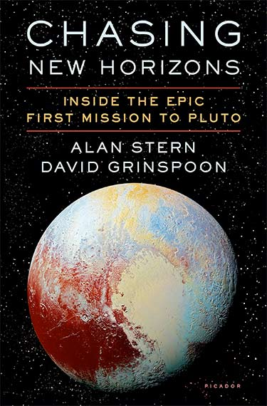Chasing New Horizons: Inside the Epic First Mission to Pluto (image of book cover)