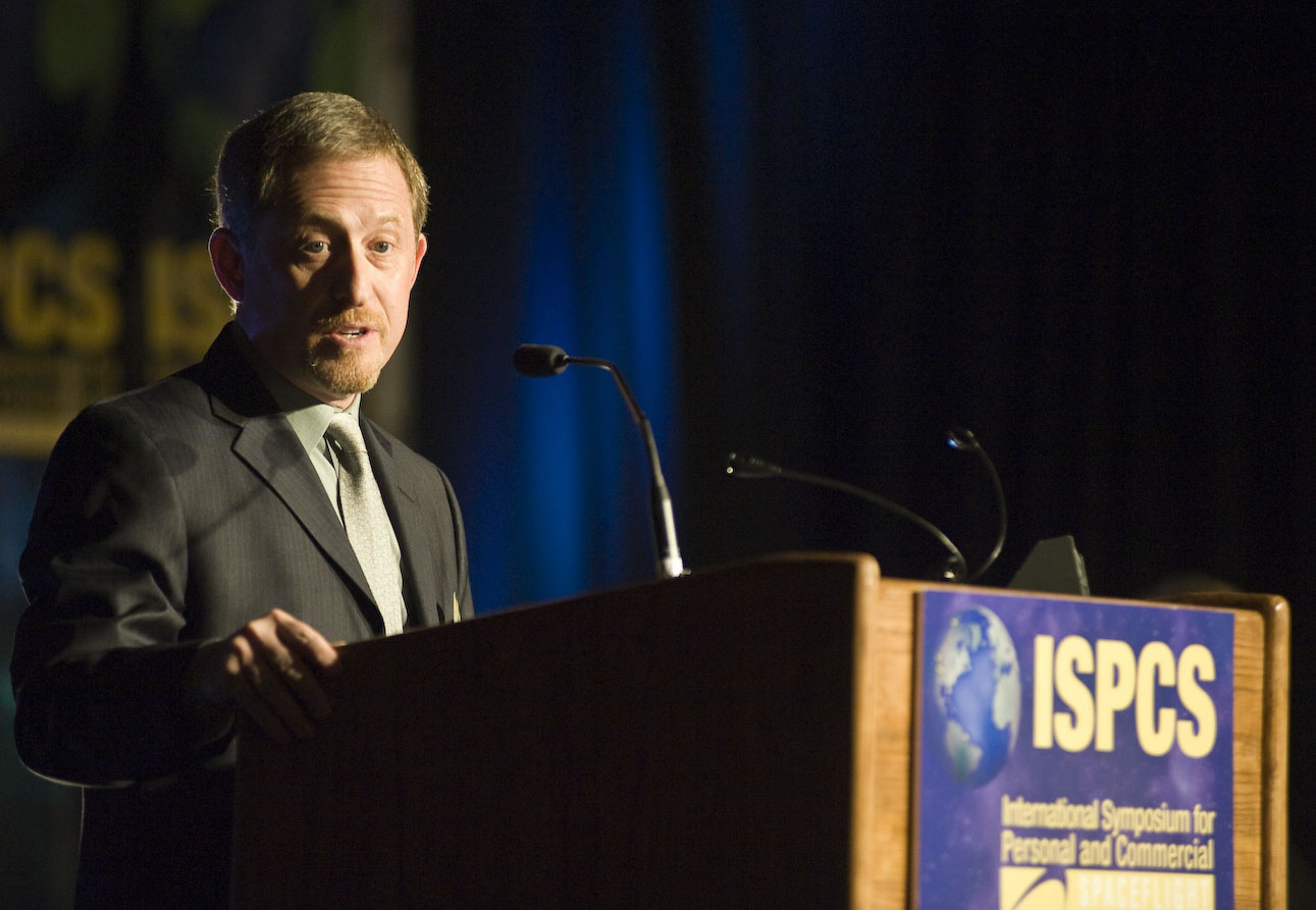 Alan Stern speaking at ISPCS in 2009